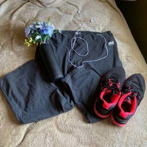 Everlast Sport Yoga Pants Cropped Flare